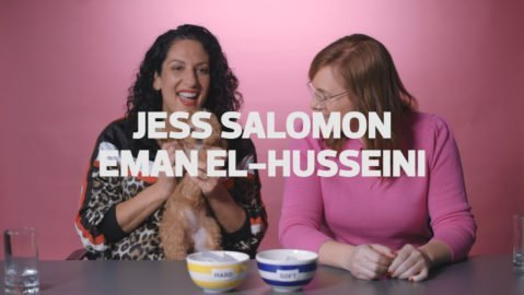 Jess Salomon and Eman El-Husseini