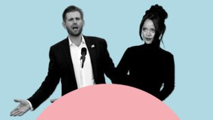 Eric Trump and Rihanna for Xtra Weekly's Topline