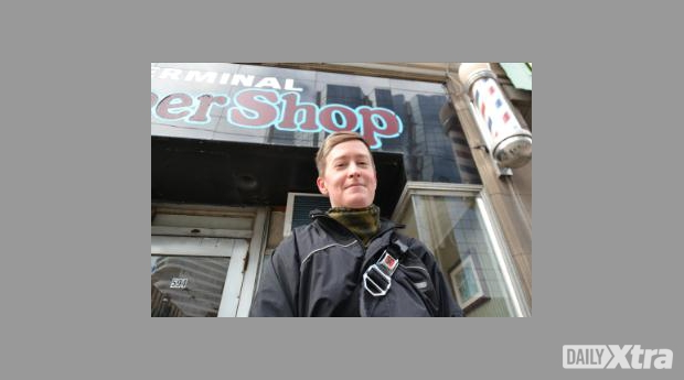 Faith McGregor has filed a complaint with the OHRC against the Terminal Barber Shop on Bay Stre...