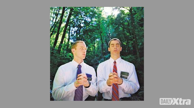 As a Mormon missionary, RJ (Nick Ferrucci) is startled to find himself crushing on Elder Merril...