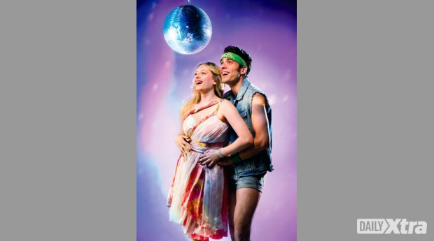 All the songs but only five lines of original dialogue. Xanadu, the oh-so-gay play, opens June ...