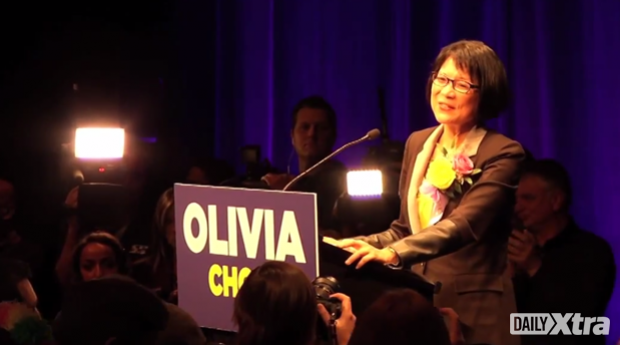 Olivia Chow concedes after coming in third in Toronto's 2014 mayoral race.