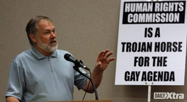 American evangelical preacher Scott Lively, during the now-infamous Ugandan anti-gay conference...